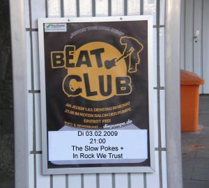 Pumpe Beatclub: Dienstag  03. Februar !!!